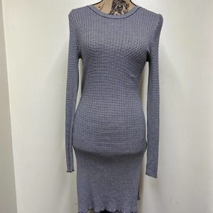 Peruvian Connection Pima Fitted Long Sleeve Dress